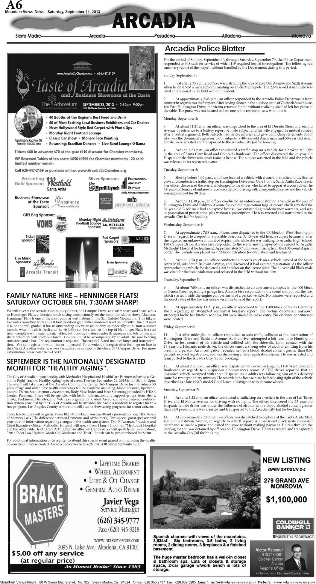 pA:6, v7 37 — Arcadia — Mountain Views News