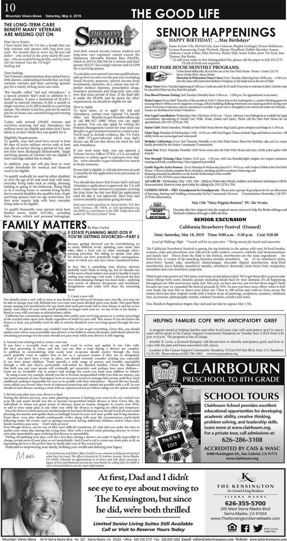 p10, v13 18 — The Good Life — Mountain Views News